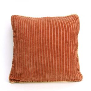 Coussin Corderoy Camel