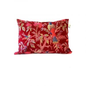 Coussin Paradise Rib Red
