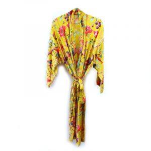 Kimono Royal Paradise Ocre