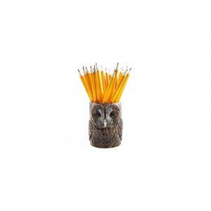 Pot à Crayons Tawny Owl Quail Ceramics