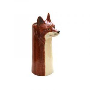 Vase Renard Quail Ceramics